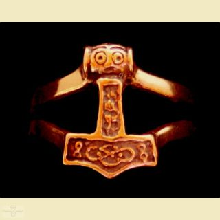 Ring Thors Hammer, Bronze 20 / 62