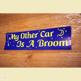 Aufkleber My other Car is a Broom