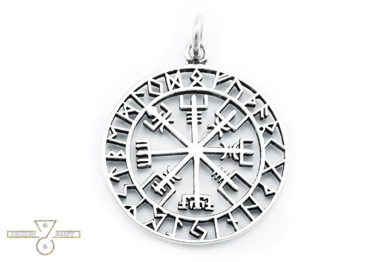amulett anh nger gro er wikinger kompass vegvisir 36 90. Black Bedroom Furniture Sets. Home Design Ideas
