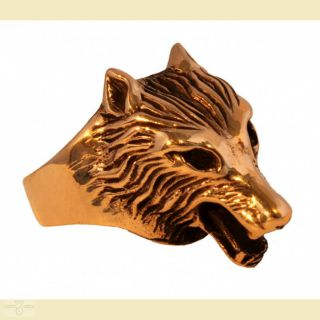Ring Wolf Fenris, Bronze