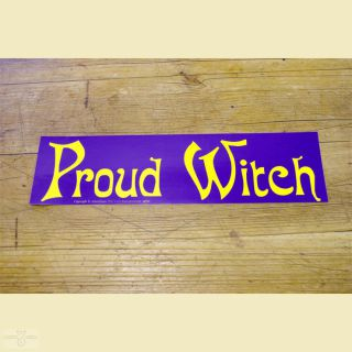 Aufkleber Proud Witch