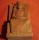Altarfigur Große Göttin, handgeschnitzt