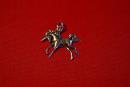 Amulett Anhänger Einhorn, Silber 925