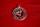 Amulett Anhänger Wolf im Runenkreis, Messing versilbert