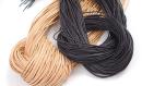 Lederband, schwarz 1m