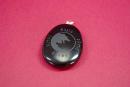 Amulett Anhänger Odins Wölfe auf Onyx