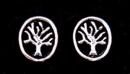 Ohrstecker Lebensbaum, Silber 925, 1 Paar