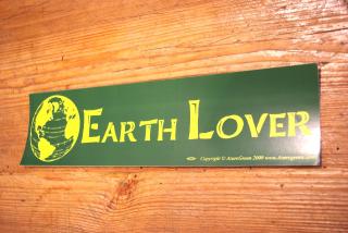 Aufkleber Earth Lover