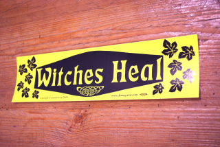 Aufkleber Witches Heal