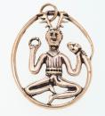 Amulett Anhänger Cernunnos 2, Bronze