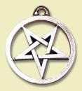 Amulett Anhänger Umgekehrtes Pentagramm