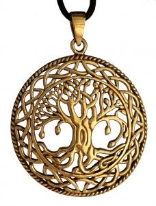 Keltischer Baum RUNA, Bronze