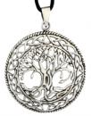 Keltischer Baum RUNA, Silber 925