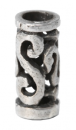 Bartperle und Lockenperle Keltische Knoten klein, Silber 925