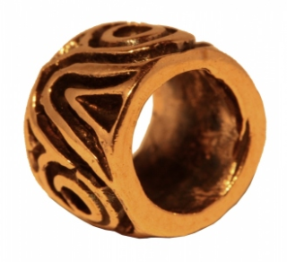 Bartperle und Lockenperle Vercana, Bronze