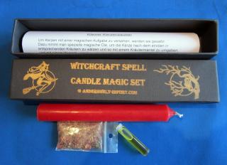 Kleiner Kerzenzauber, Ritualset, GLÜCK