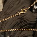 Flachpanzerkette,versch. Längen, Bronze