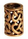 Bartperle und Lockenperle Spiralen 2, Bronze