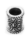 Bartperle und Lockenperle Keltische Knoten 2, Silber 925