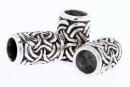 Bartperle und Lockenperle Schleifen, Silber 925