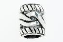 Bartperle und Lockenperle Schleifen 2, Silber 925