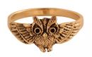 Ring Eule, Bronze