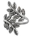 Ring Blätter der Yggdrasil, Silber 925