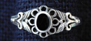 Ring Dark Onyx, Siber 925
