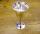 Salzkelch Ritualkelch Pentagramm, Messing versilbert