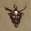 Amulett Anhänger Cernunnos, Bronze