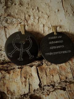 Runenamulett Anhänger Gesundheitszauber mit Zauberspruch