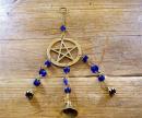 Windspiel Pentakel Pentagramm, Messing