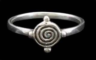 Ring Keltische Erde, Silber 925 17 / 54