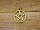 Amulett Anhänger Pentagramm, beideitig tragbar 24 K vergoldet (Dienstleistung)