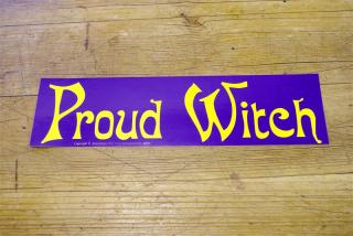 Aufkleber Proud Witch
