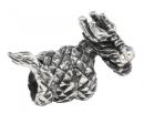Bartperle und Lockenperle Dragon, Silber 925