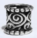 Bartperle und Lockenperle Keltische Spiralen klein,...