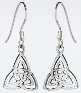 Ohrhänger Trinity, Silber 925, 1 Paar