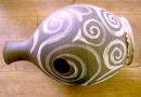 UDU, afrikanische Krugtrommel mit Membran, Handarbeit