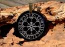 Amulett Anhänger Rune der Unwiderstehlichkeit,...