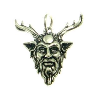 Amulett Anhänger Cernunnos, Silber 925