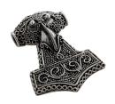 Amulett Anhänger Thor Hammer,  handgearbeitet,...