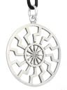 Amulett Anhänger Wikinger Sonnenrad groß,...