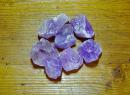 Wassersteine Amethyst Rohsteine, 100g