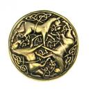 Amulett Anhänger Keltische Pferde, Bronze