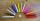 Ritualkerze mini  handgezogen und durchgefärbt, versch. Farben, Stck.