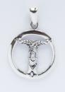 Amulett Anhänger Irminsul klein, Silber 925