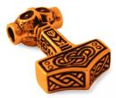 Amulett Anhänger Thorfinn Thors Hammer, Bronze