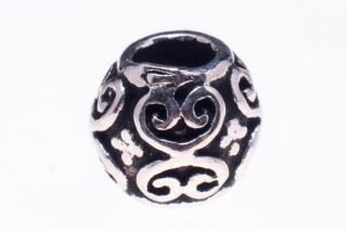 Bartperle und Lockenperle Ada, Silber 925