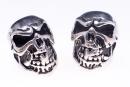 Bartperle  Totenkopf Skull, Silber 925,1 Stck.